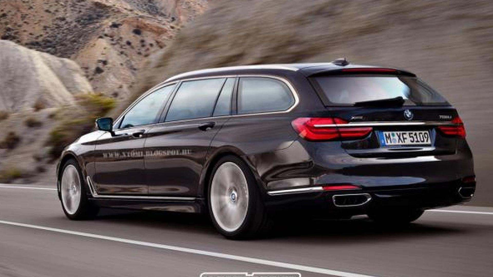 2016 Bmw 7 Series Rendered In M7 And Touring Guises