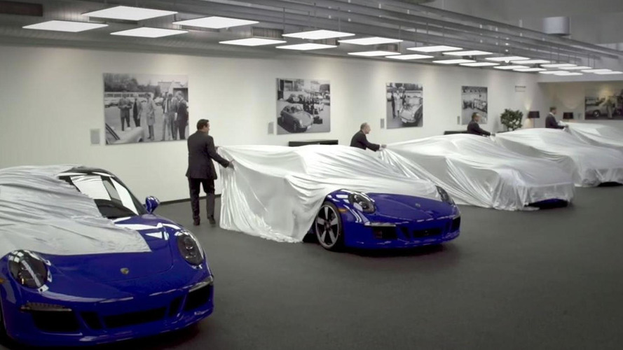 Porsche organized special delivery event for 911 GTS Club Coupe [video]