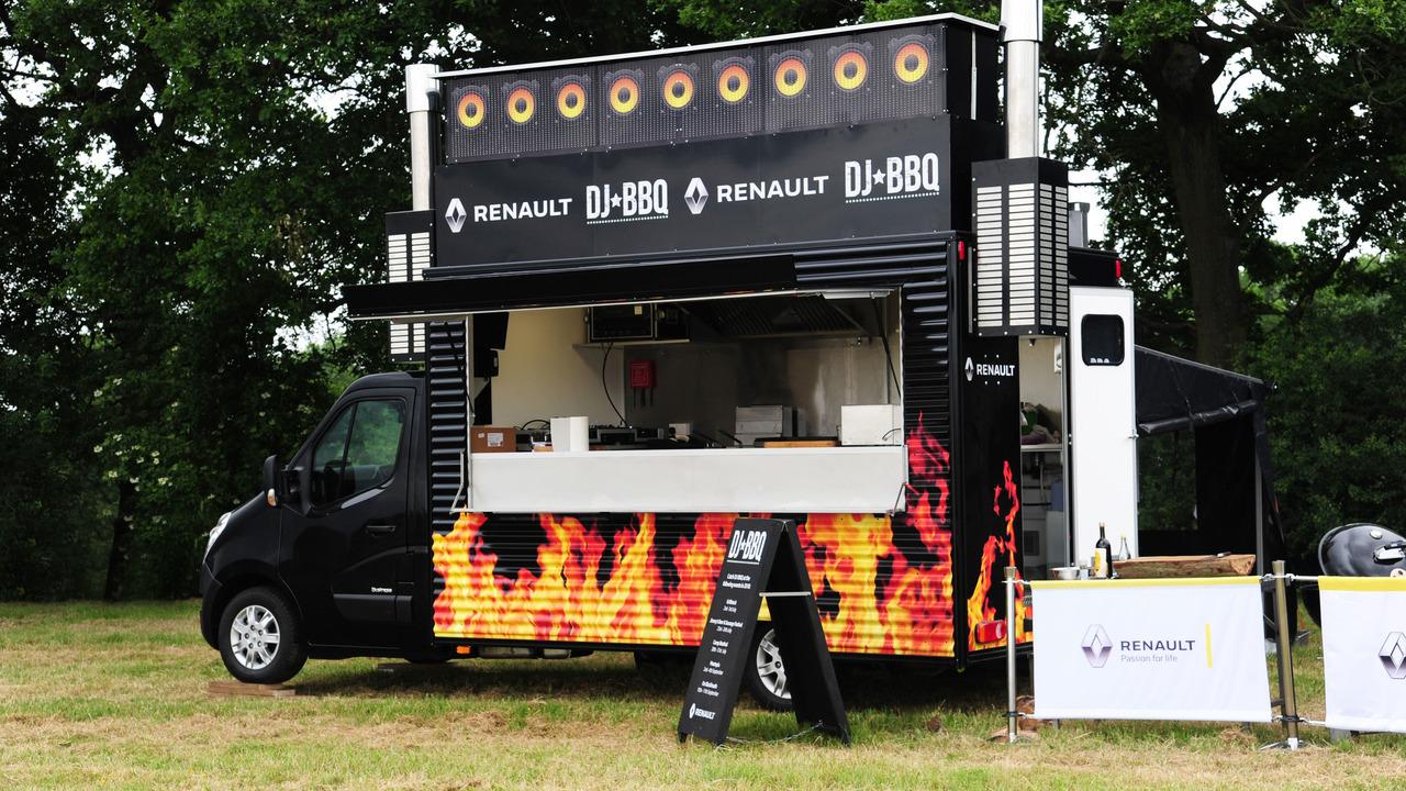 Renault DJ BBQ Van