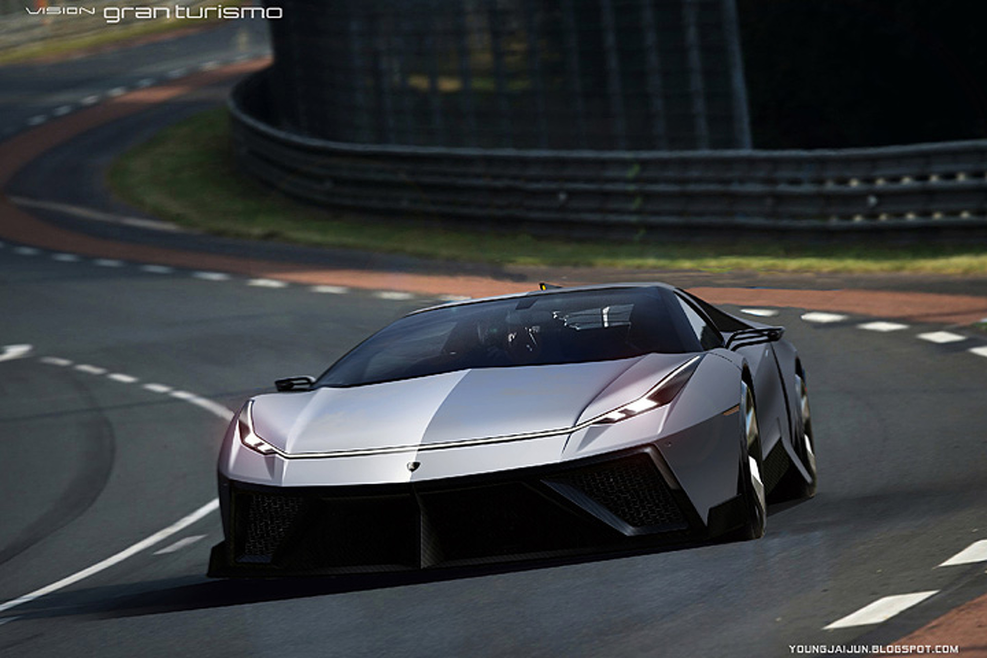Lamborghini 'Missile' Concept is a 220MPH Blast to the Future