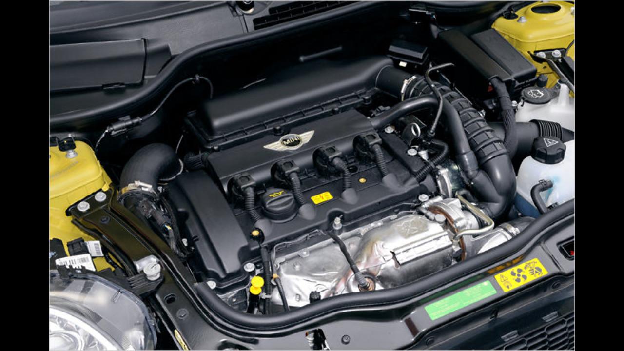 Bester Motor von 1,4 bis 1,8 Liter Hubraum<br><br>1,6-Liter-Turbobenziner von BMW und PSA