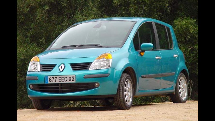 Renault Modus: Pfiffiger Van im Kleinwagen-Format