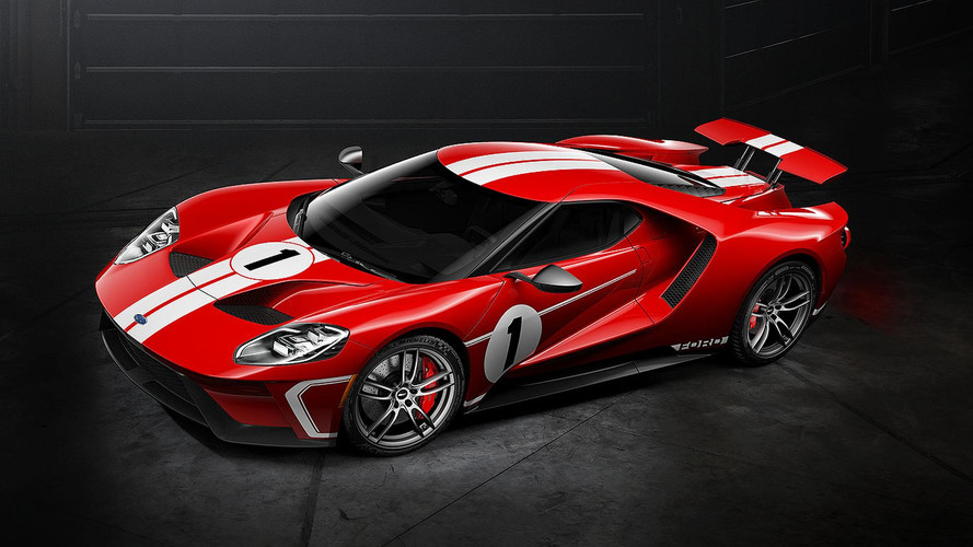 Limited Edition Ford GT Celebrates 1967 Le Mans Win