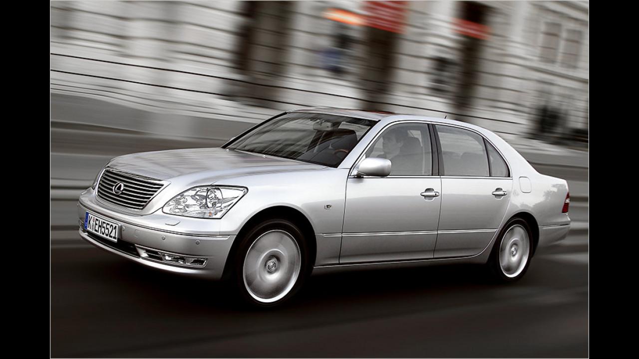 Lexus LS 430 (2000 bis 2006): Ab 7.900 Euro