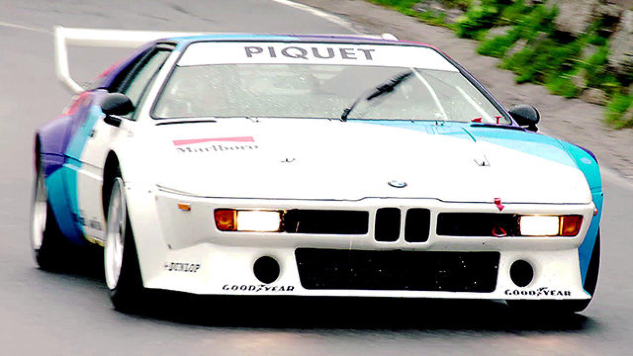 Historische BMW-Rennwagen