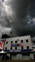 Dark clouds over the circuit, British Grand Prix, 03.07.2008 Silverstone, England