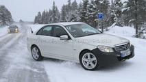 2011 Mercedes C-Class Facelift Latest Winter Spy Photos