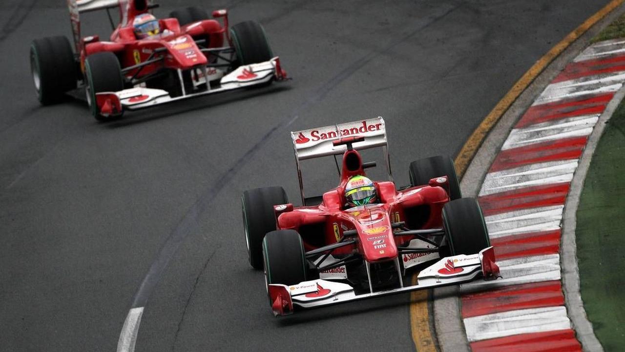 Felipe Massa (BRA), Scuderia Ferrari, Fernando Alonso (ESP), Scuderia Ferrari - Formula 1 World Championship, Rd 2, Australian Grand Prix