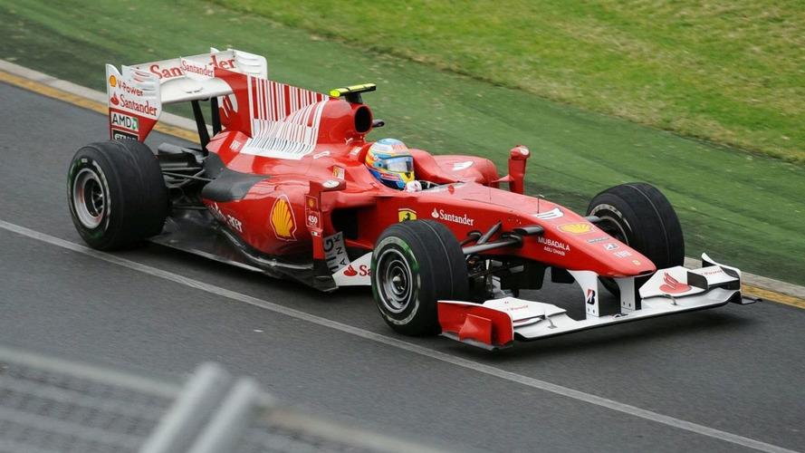 Bigger 'shark gills' to help cool Ferraris at Sepang