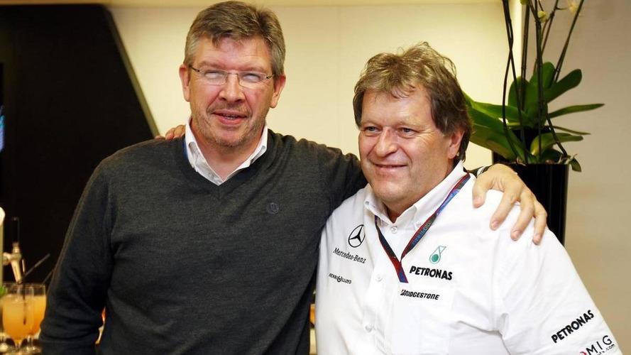 Haug insists 'no cracks' in Mercedes team harmony
