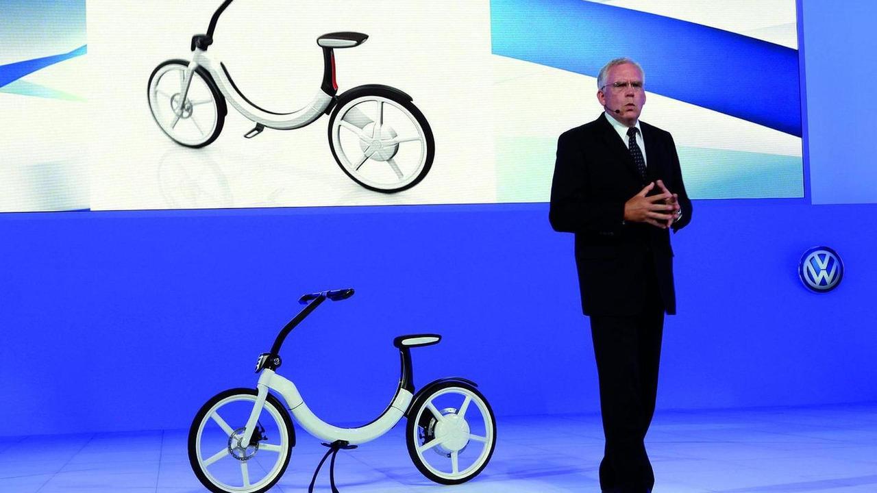 Volkswagen Bik.e electric-driven micro mobility concept, Auto China 2010, Beijing 28.04.2010