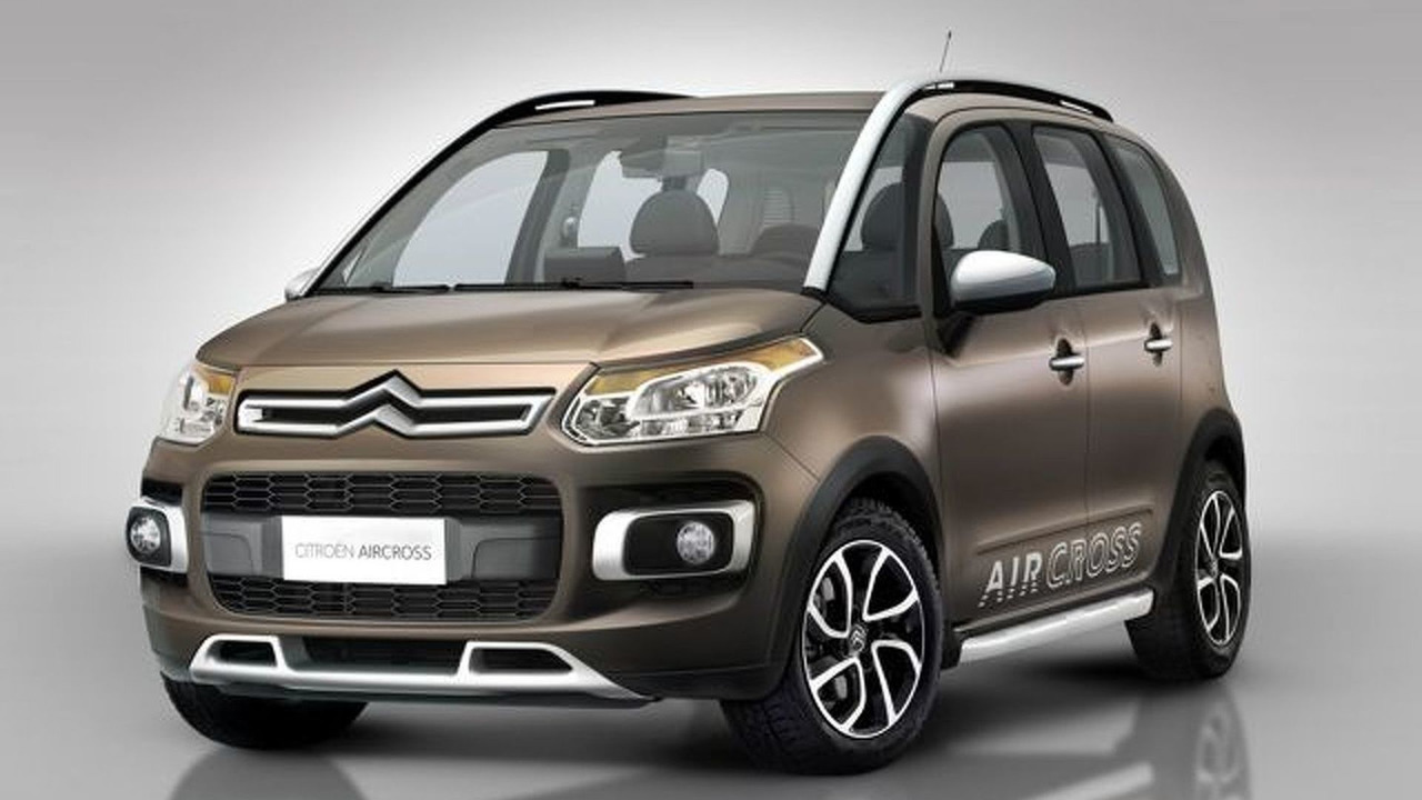 Citroën AirCross based on C3 Picasso first photos - 640 - 05.04.2010