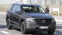 2012 Mercedes M-Class spy photos - 23.3.2011
