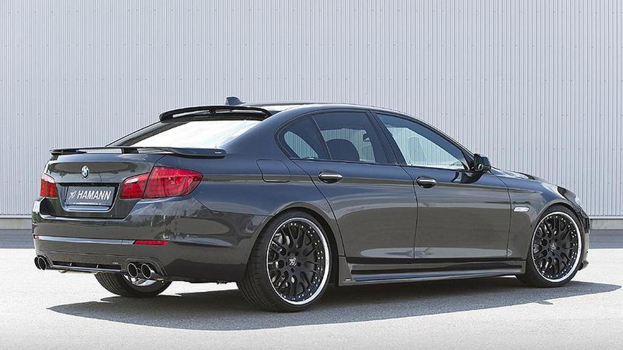 BMW 5-Series F10 first body styling kit from Hamann