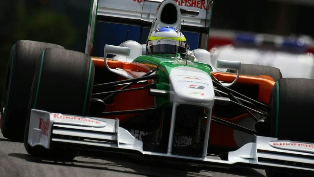 Giancarlo Fisichella, Force India F1 Team, Monaco Grand Prix 21.05.2009