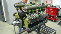 Porsche 917 motor reconstruido
