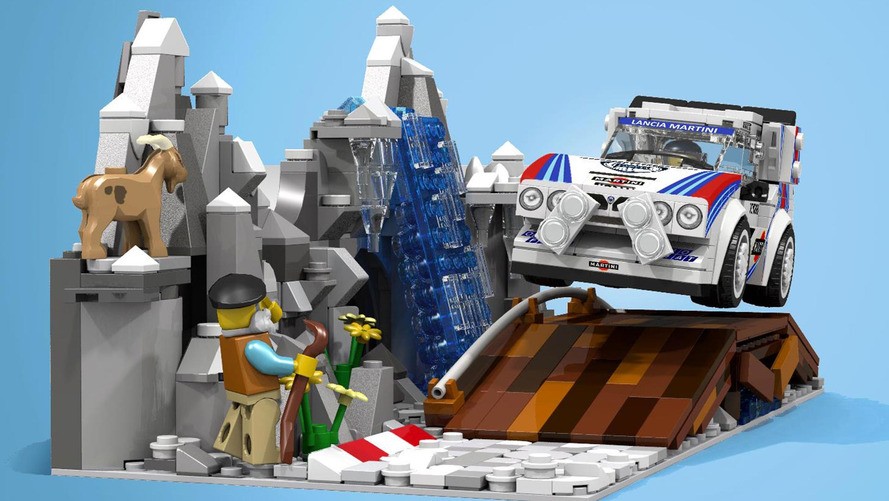 Lego Lancia Delta S4 Proposal: Your Next Toy Rally Champ?