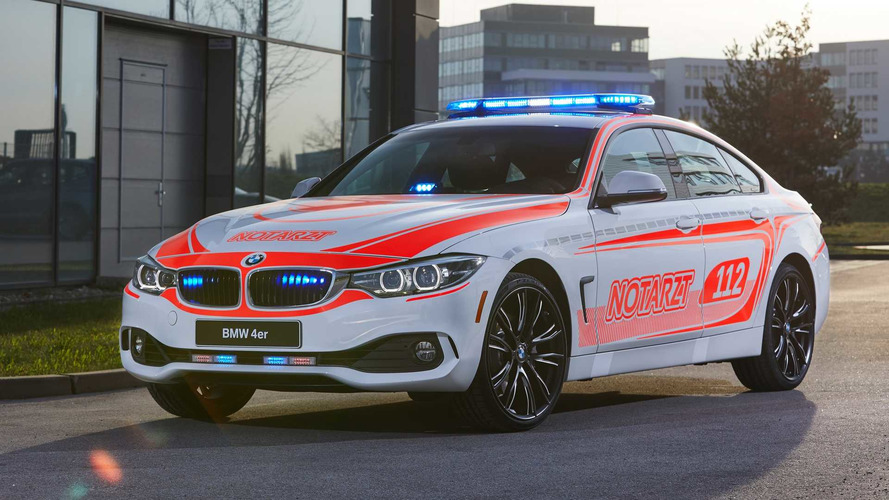 BMW Showcases Emergency Vehicle Attire For Several Models