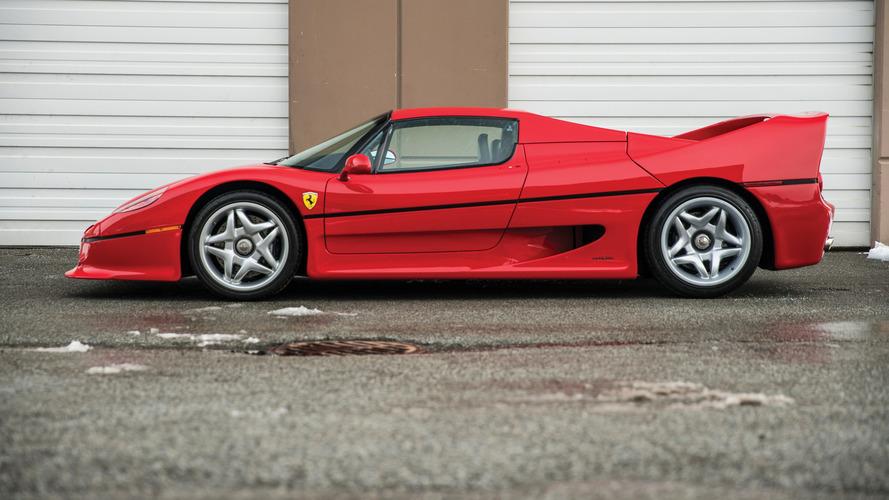 La Ferrari F50 de Mike Tyson aux enchères!