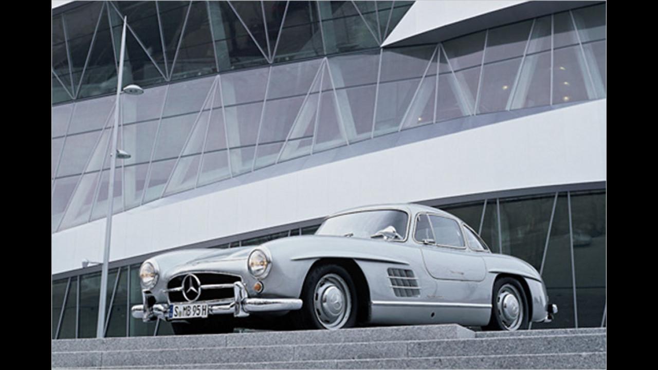 Platz drei seit 1999: Mercedes 300 SL Coupé