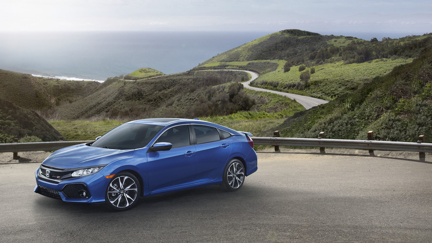 2017 Honda Civic Si turbo motorla geldi
