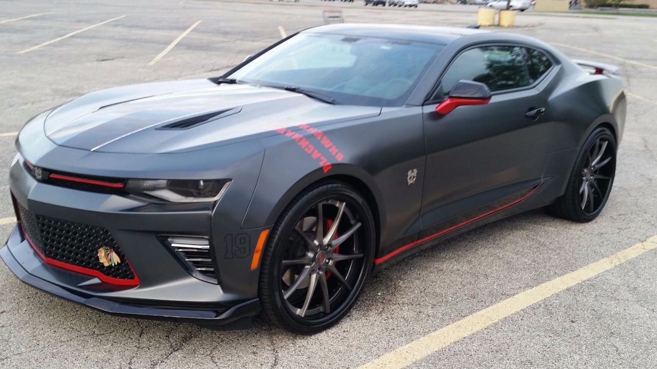 Chicago Blackhawks Chevy Camaro eBay