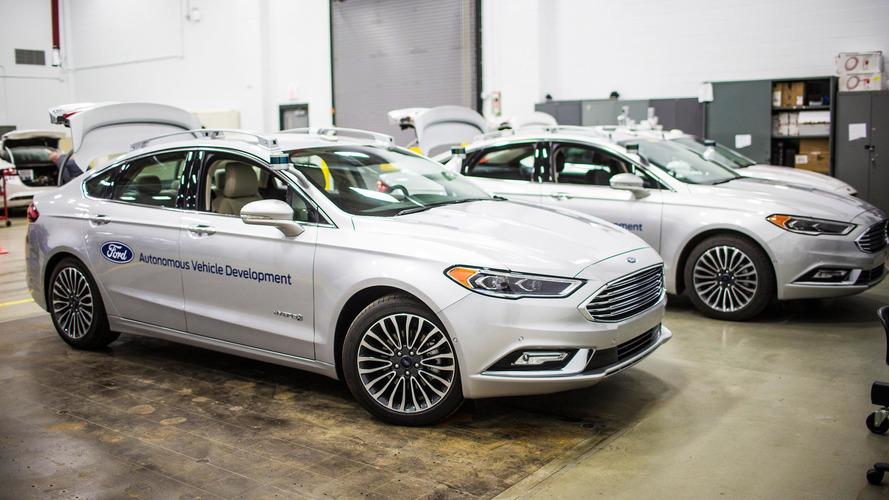 Ford Fusion Autonome