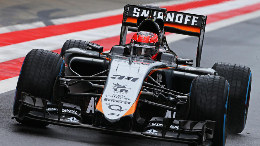 Esteban Ocon, pilote d'essais Sahara Force India F1 VJM08