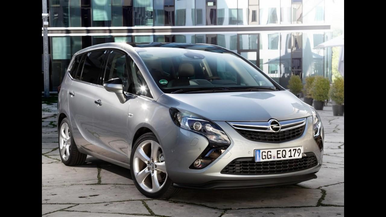 A moda é SUV: Opel Meriva e Zafira deixarão estilo MPV para adotar formas de crossover