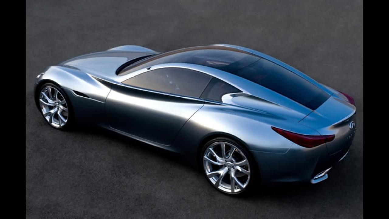 Infiniti exibirá seu novo coupé no Salão de Genebra