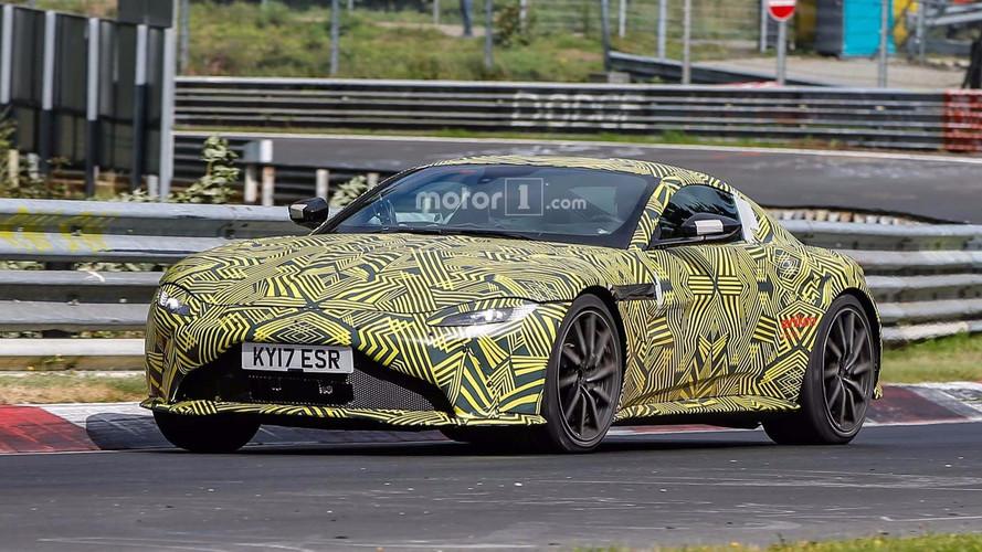 Photos espion Aston Martin Vantage sur le Nürburgring