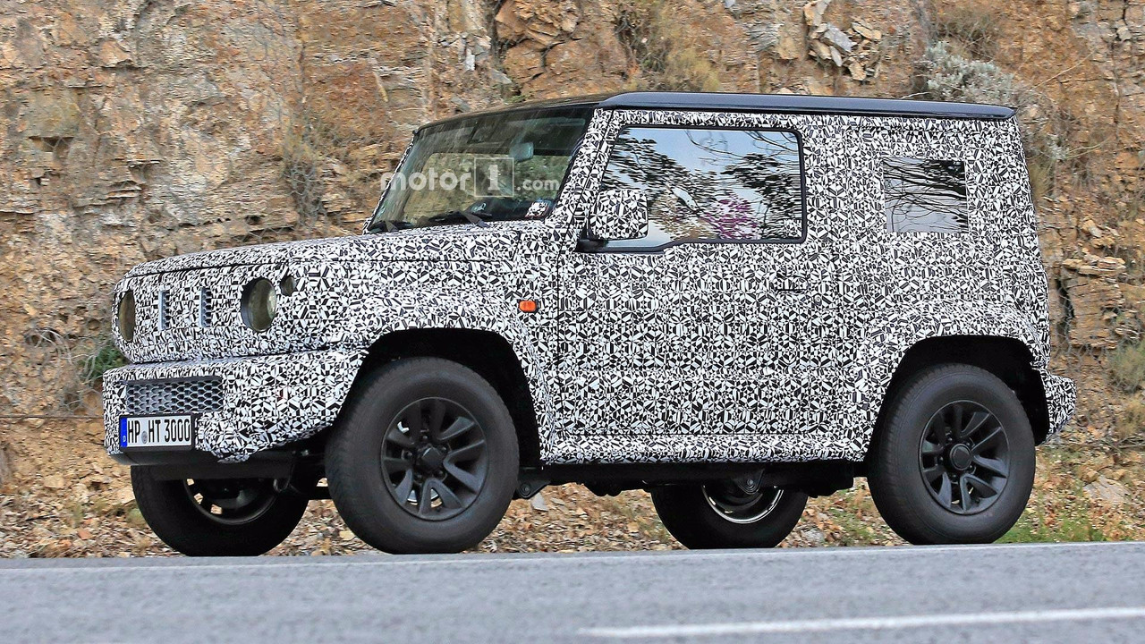 2018 suzuki samurai. exellent suzuki 2018 suzuki jimny spy photos throughout suzuki samurai m