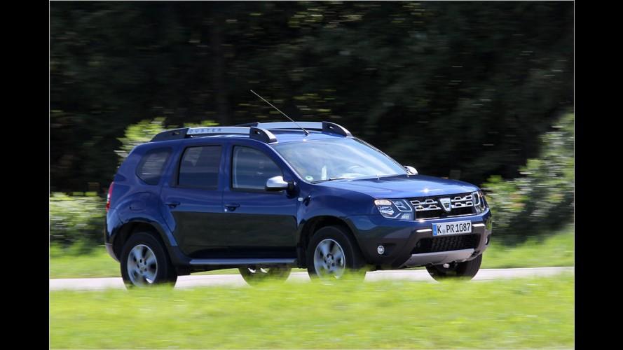 Der Dacia Duster mit 109-PS-Diesel und Automatik im Test