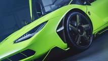 Lamborghini Centenario verde lima Hong Kong
