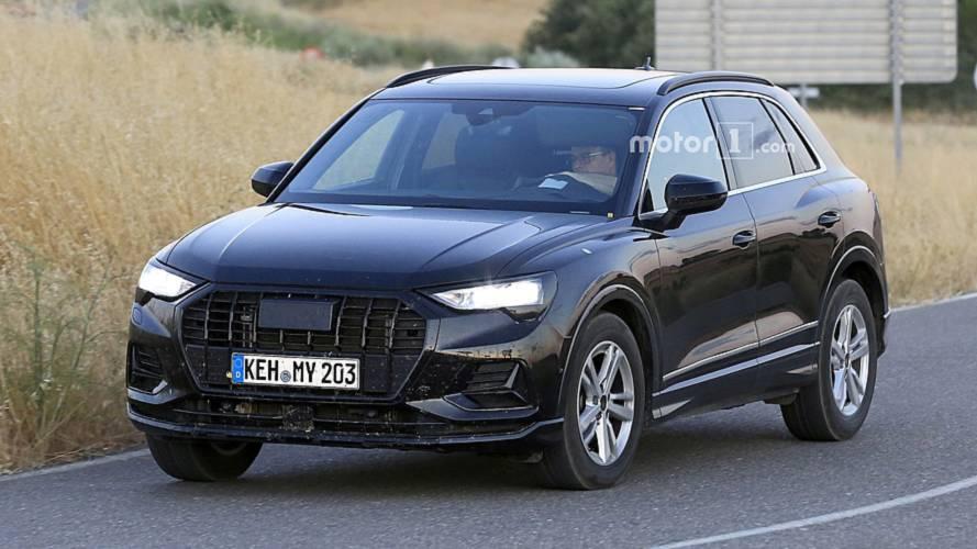 2019 Audi Q3 almost undisguised spy photos