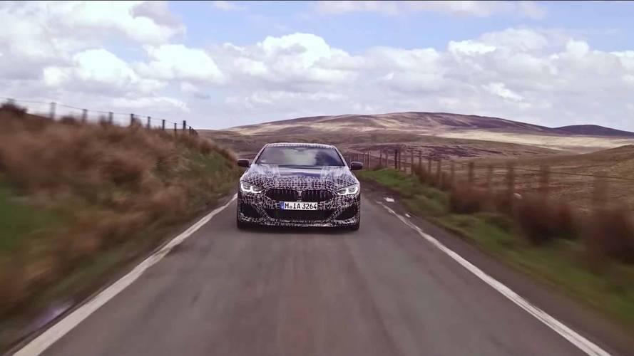 BMW, 530 beygir gücündeki 8 Serisinin teaser'larını yayınladı