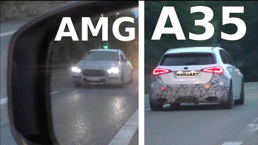 Mercedes-AMG A35 yan aynadan görüntülendi