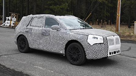 2020 Lincoln Corsair SUV Spied Hiding Under Heavy Cover
