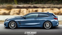 BMW 8 Series Convertible and Shooting Brake renderings