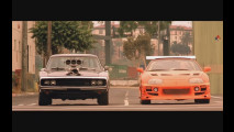 Fast and Furious, Toyota Supra con Paul Walker e Vin Diesel