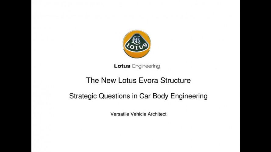 Lotus Evora: pronta per l'ibrido e l'elettrico