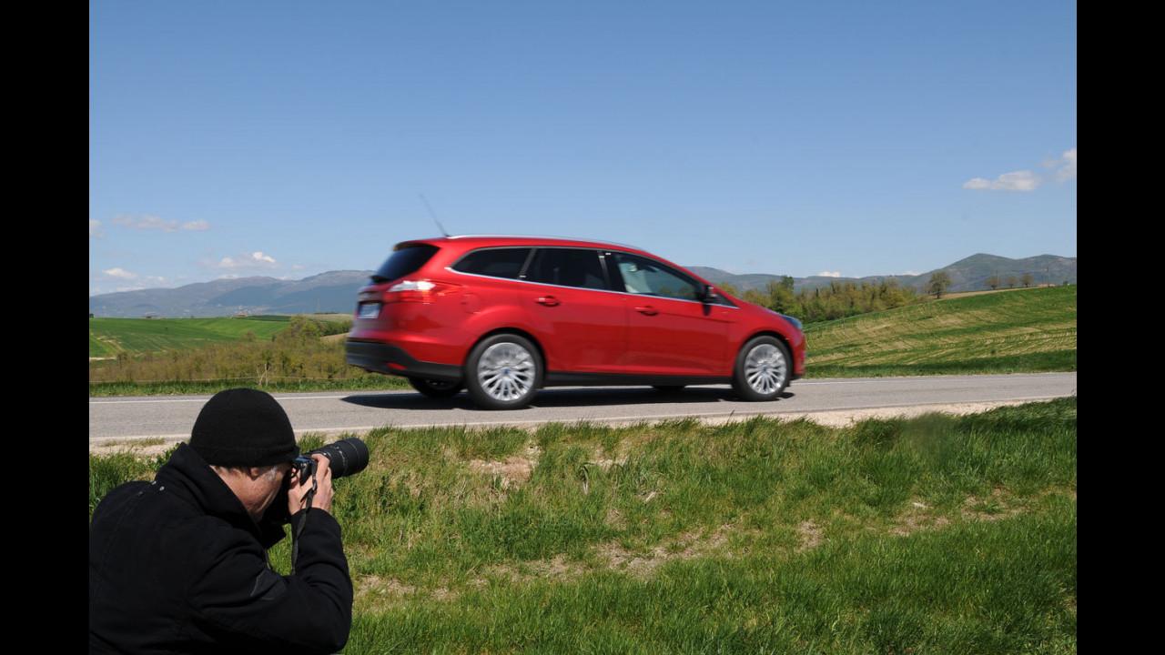 Roberto Zini fotografa la nuova Ford Focus Wagon