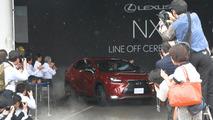Lexus NX production at the Miyata Plant