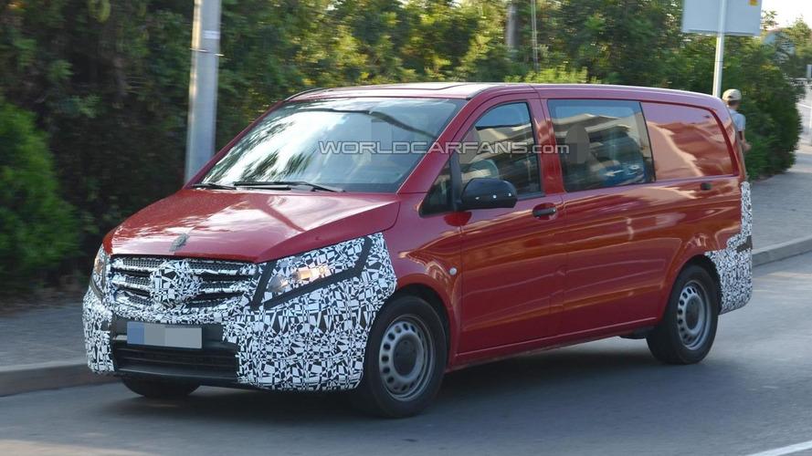 2015 Mercedes-Benz Vito spied up close