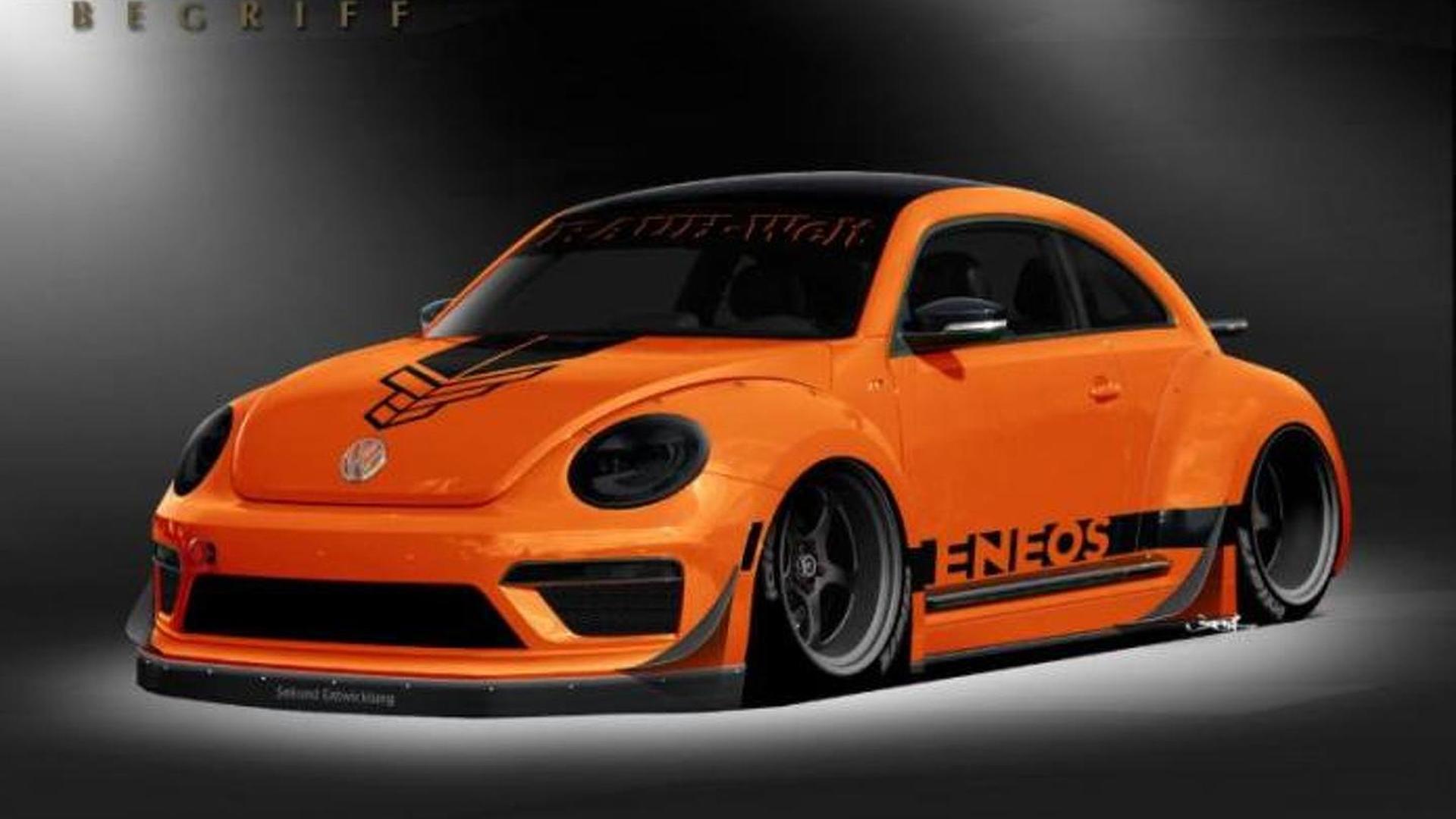 Volkswagen Beetle. Тюнинг от Таннера Фауста и RAUH-Welt Begriff