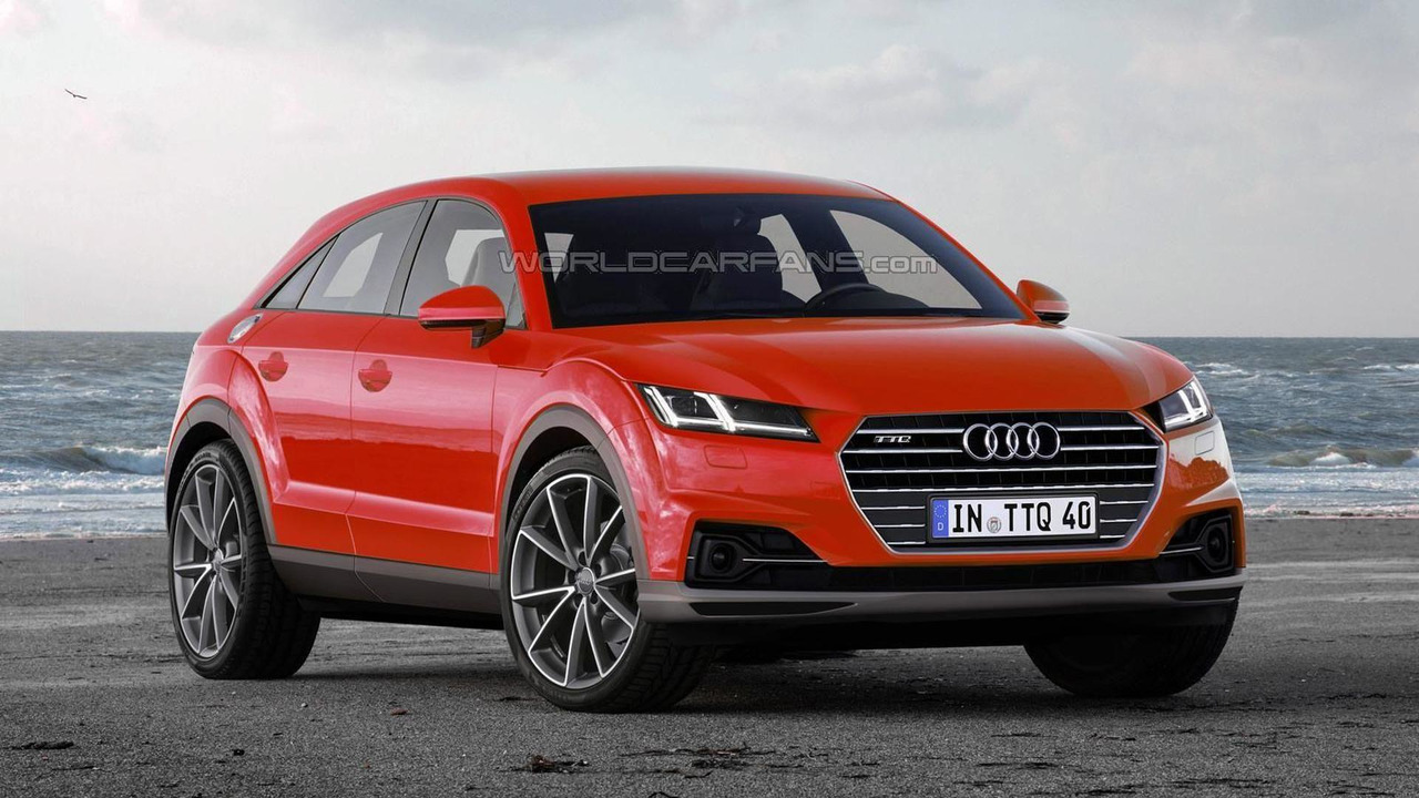 2017 Audi TTQ render