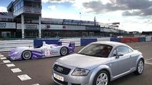 the Audi TT Coupe 3.2 quattro & Audi R8