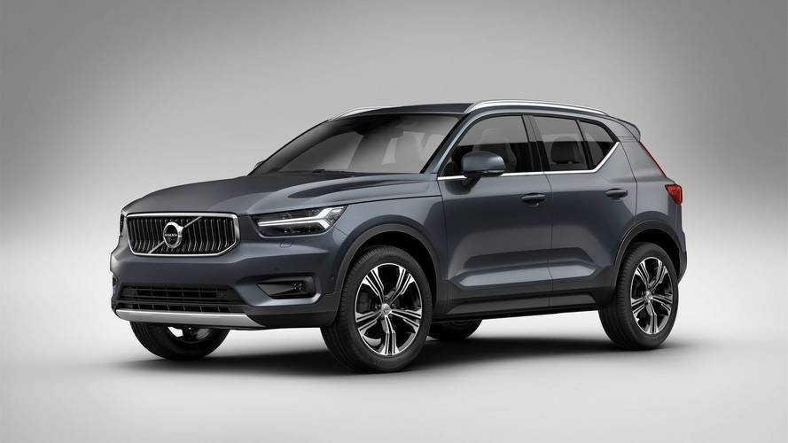 Volvo XC40 with 1.5-liter engine