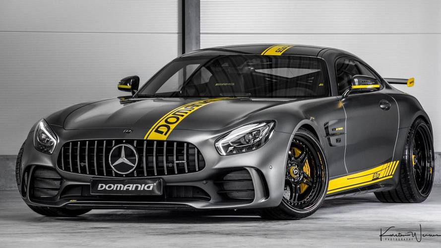 205-MPH Mercedes-AMG GT R Gets 769 HP From Tuner