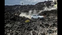 Audi A4 allroad, lo spot sull'Etna 004